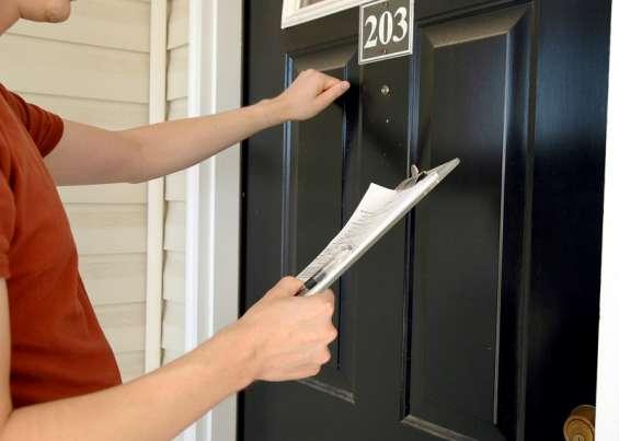 Different ways of door to door leaflet distribution