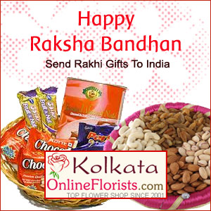 Send exclusive rakhi gifts to kolkata on the same day with marvelous offers