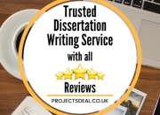 No.1 Trusted Dissertation / Essay Writing for 100% Grades