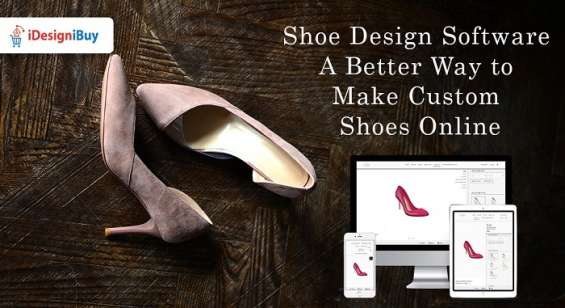 Custom shoe design software | online shoe design tool | idesignibuy