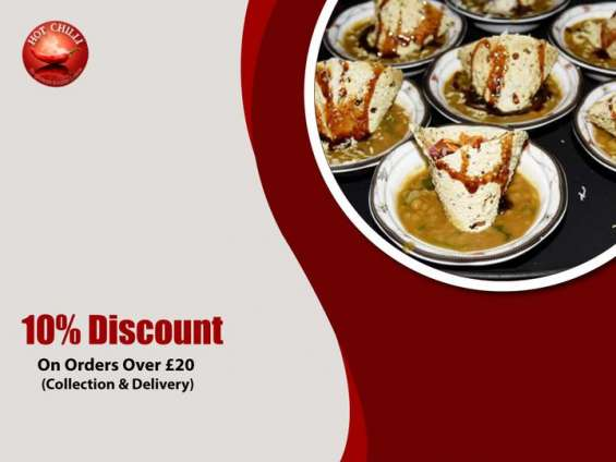 10% discount on collection and takeaway orders over £20