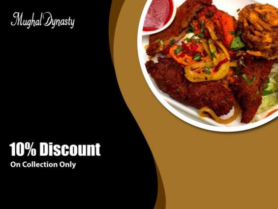 10% discount on collection only