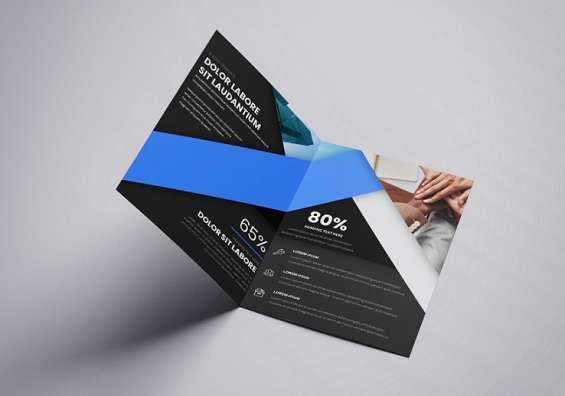 Free bi-fold google slides brochure templates