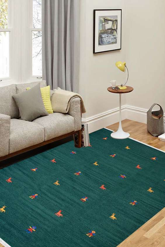 Shop area rugs online, jaali wisdom highly durable pure silk and pure cotton carpet