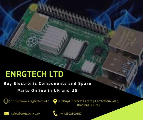 Best electronic components suppliers in uk and us  enrg tech