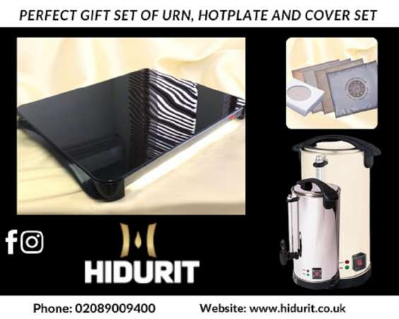 Ceramic hot plates and hot plate covers