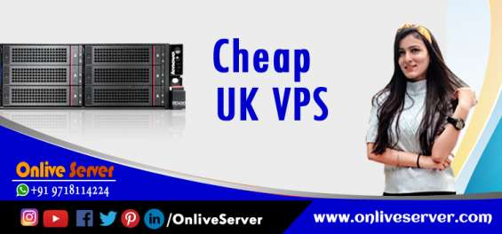 Get the world class uk based cheap vps server hosting services by onlive server