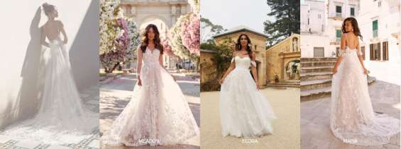 Stunning selection of bridal gowns in london