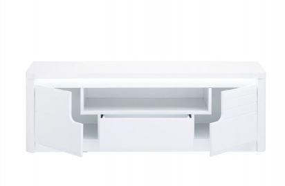 Buy white high gloss tv stand made in italy