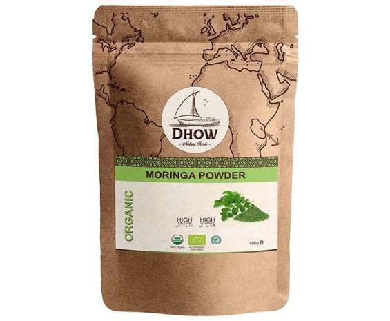 Get organic moringa powder| dhow nature foods