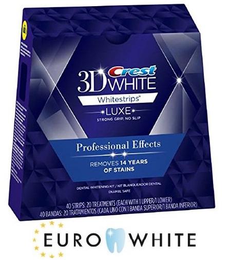 Buy crest teeth whitening strips - euro white
