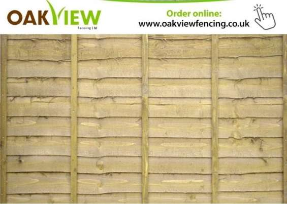 Fencing panels for sale   oakview fencing