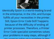Solve Imperfection to Epson Error Code 0x97