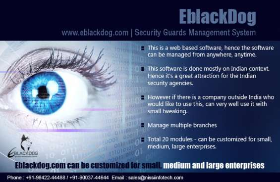 Security company management software