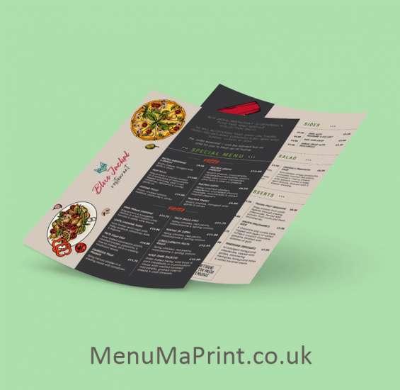 A4 restaurant menu a4 menu cheap a4 printing menuma print