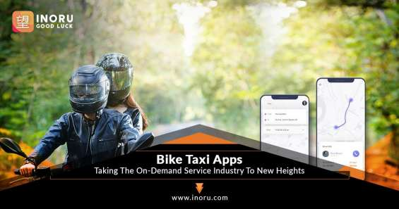 Get your bike taxi app launched with inoru