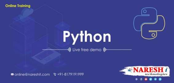Free demo for python online training - naresh it