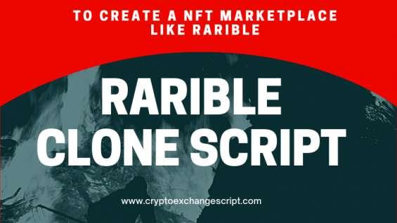 Rarible clone script - to create nft marketplace platform like rarible