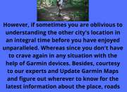Creative Solution to  Fix Gps Problem by Update Garmin Maps