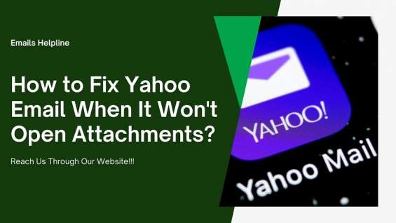 How to fix yahoo email when it won't open attachments?