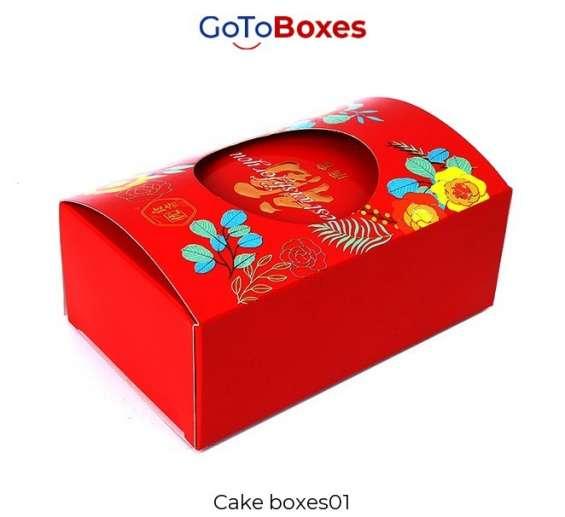 Cake boxes wholesale at gotoboxes