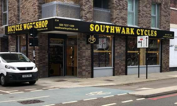 Southwark cycles - bike repair and sales at boatman