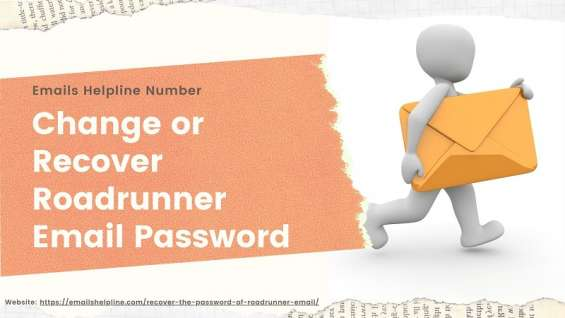 Change or recover roadrunner email password