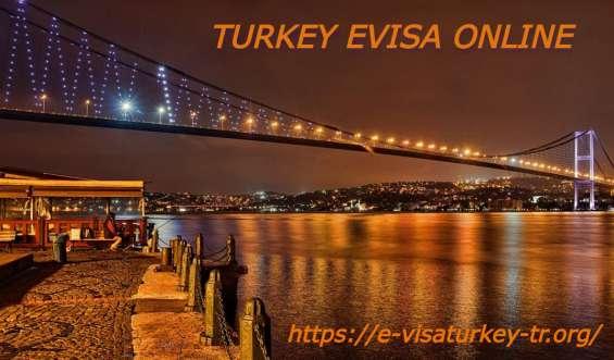 Electronic visa for turkey