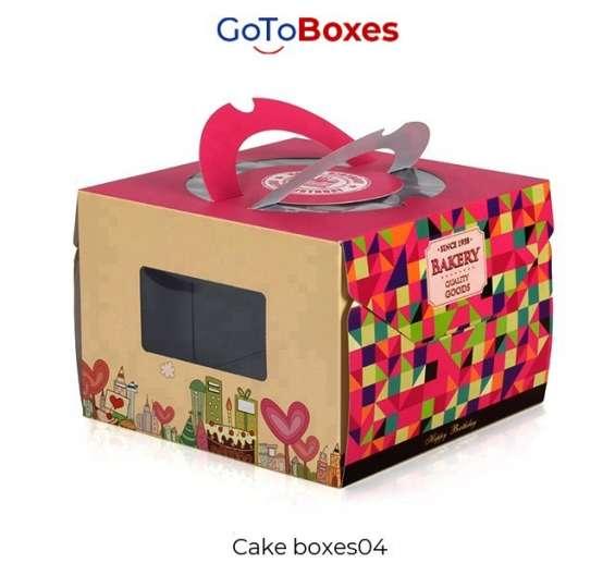 Custom cake boxes wholesale free shipping