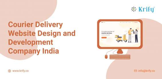 Courier delivery website design and development company