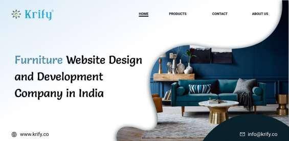 Furniture website design and development company