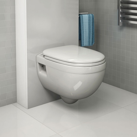 Explore a wide range of wall hung toilets are available in square & round styles.