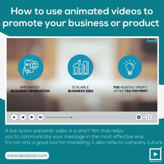 What is a corporate office video? alpasbox